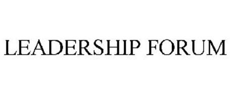 LEADERSHIP FORUM