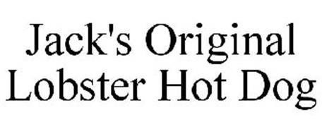JACK'S ORIGINAL LOBSTER HOT DOG
