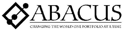 ABACUS CHANGING THE WORLD ONE PORTFOLIO AT A TIME