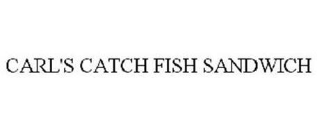 CARL'S CATCH FISH SANDWICH