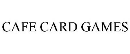 CAFE CARD GAMES