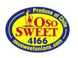 OSO SWEET 4166 PRODUCE OF CHILE OSOSWEETONIONS.COM