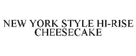 NEW YORK STYLE HI-RISE CHEESECAKE