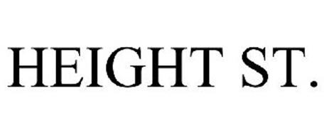 HEIGHT ST.