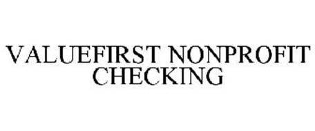 VALUEFIRST NONPROFIT CHECKING