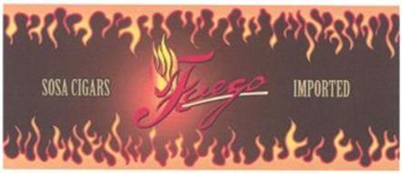SOSA CIGARS FUEGO IMPORTED