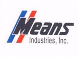 MEANS INDUSTRIES, INC.