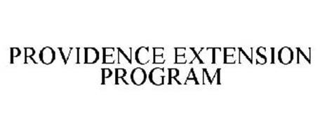 PROVIDENCE EXTENSION PROGRAM