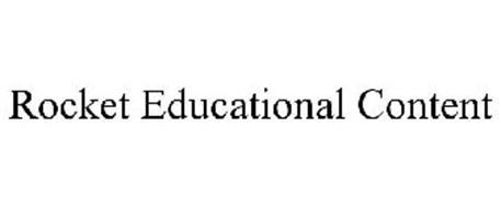 ROCKET EDUCATIONAL CONTENT