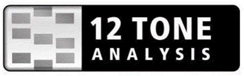 12 TONE ANALYSIS