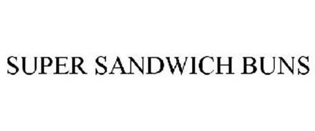 SUPER SANDWICH BUNS