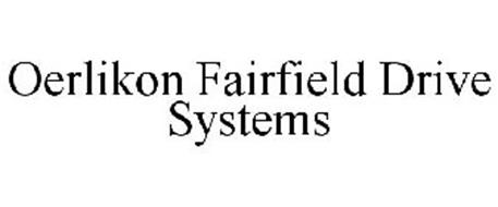 OERLIKON FAIRFIELD DRIVE SYSTEMS