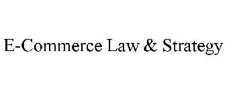 E-COMMERCE LAW & STRATEGY