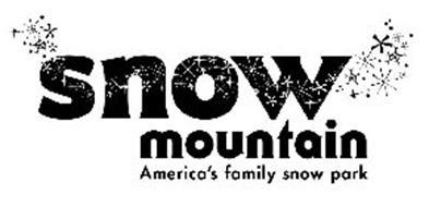 SNOW MOUNTAIN AMERICA'S FAMILY SNOW PARK