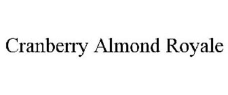 CRANBERRY ALMOND ROYALE
