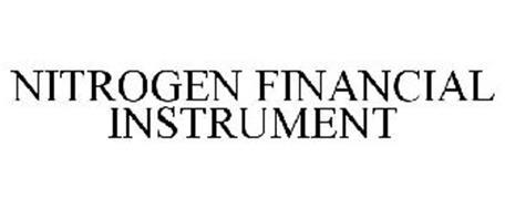 NITROGEN FINANCIAL INSTRUMENT