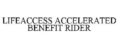 LIFEACCESS ACCELERATED BENEFIT RIDER