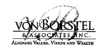 VB VON BORSTEL & ASSOCIATES, INC. ALIGNING VALUES, VISION AND WEALTH