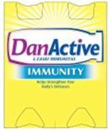DANACTIVE L. CASEI IMMUNITAS IMMUNITY HELPS STRENGTHEN YOUR BODY'S DEFENSES