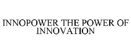 INNOPOWER THE POWER OF INNOVATION