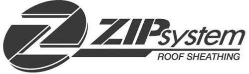 Z ZIP SYSTEM ROOF SHEATHING