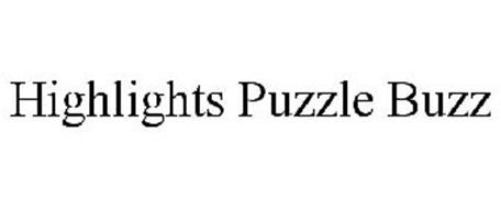 HIGHLIGHTS PUZZLE BUZZ