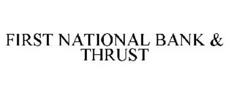 FIRST NATIONAL BANK & THRUST
