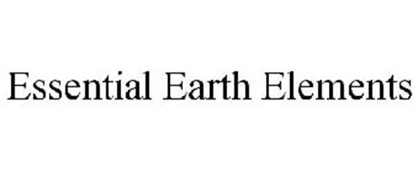 ESSENTIAL EARTH ELEMENTS