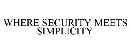WHERE SECURITY MEETS SIMPLICITY