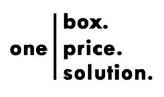 ONE BOX. PRICE. SOLUTION.