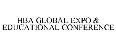 HBA GLOBAL EXPO & EDUCATIONAL CONFERENCE