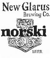 NEW GLARUS BREWING CO. NORSKI BEER