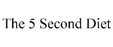 THE 5 SECOND DIET