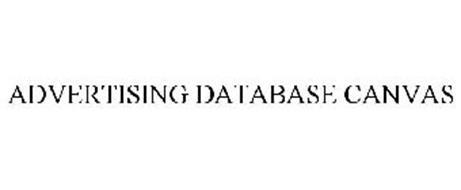ADVERTISING DATABASE CANVAS