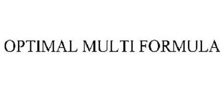 OPTIMAL MULTI FORMULA