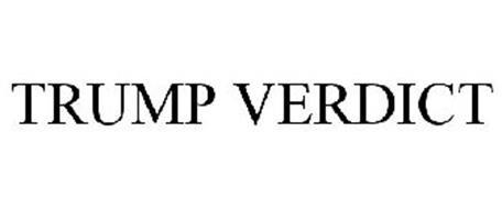 TRUMP VERDICT