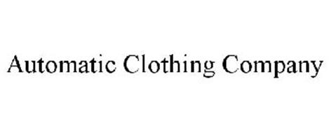 AUTOMATIC CLOTHING COMPANY