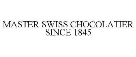 MASTER SWISS CHOCOLATIER SINCE 1845