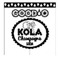 GOOD O KOLA CHAMPAGNE SODA
