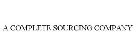 A COMPLETE SOURCING COMPANY