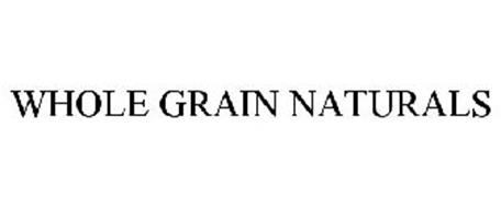 WHOLE GRAIN NATURALS