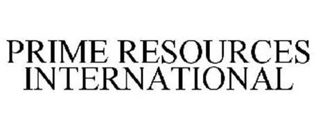 PRIME RESOURCES INTERNATIONAL
