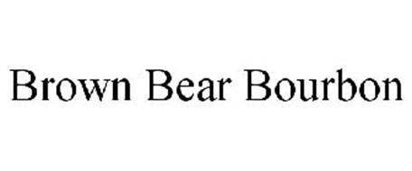 BROWN BEAR BOURBON