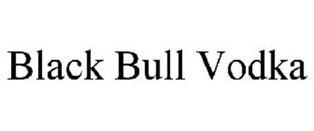 BLACK BULL VODKA