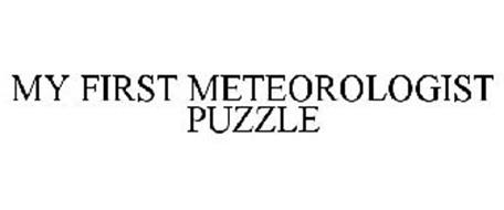 MY FIRST METEOROLOGIST PUZZLE