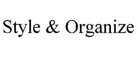 STYLE & ORGANIZE