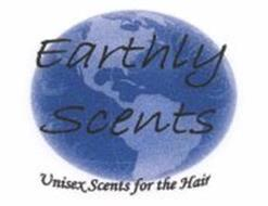 EARTHLY SCENTS UNISEX SCENTS FOR THE HAIR