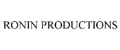 RONIN PRODUCTIONS