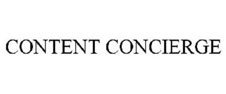 CONTENT CONCIERGE
