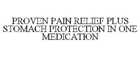 PROVEN PAIN RELIEF PLUS STOMACH PROTECTION IN ONE MEDICATION
